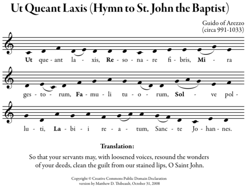 Hymn to Saint John the Baptist